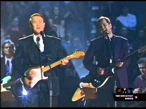 "Glen Campbell & Steve Wariner Perform ""Galveston"""