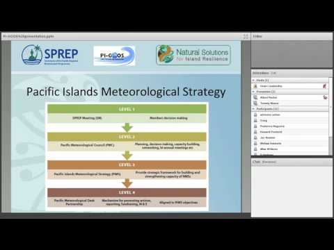 GOOS Web Series Pacific Island Global Ocean Observing System (PIGOOS) by Tommy Moore2016