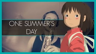 Video One Summer's Day - Spirited Away (Alto Sax Cover) download MP3, 3GP, MP4, WEBM, AVI, FLV Agustus 2018