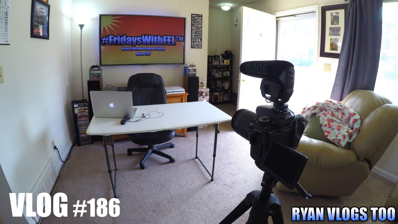 How I Set Up & Film YouTube Videos! (Vlog #186) 4K - YouTube