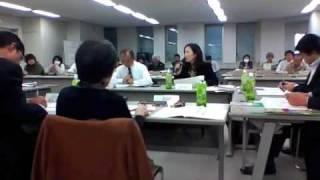 2009年11月1日、静岡県で行われた事業仕分けの様子その4、これでラスト...