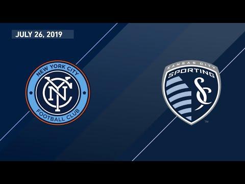 Highlights   New York City FC vs. Sporting KC
