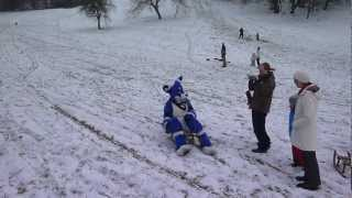 Avalon Roo sledging wheee