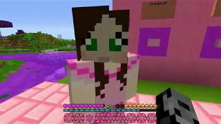 Minecraft Challenge : NYAN CAT HIDE AND SEEK!! - Morph Hide And Seek - Modded Mini-Game