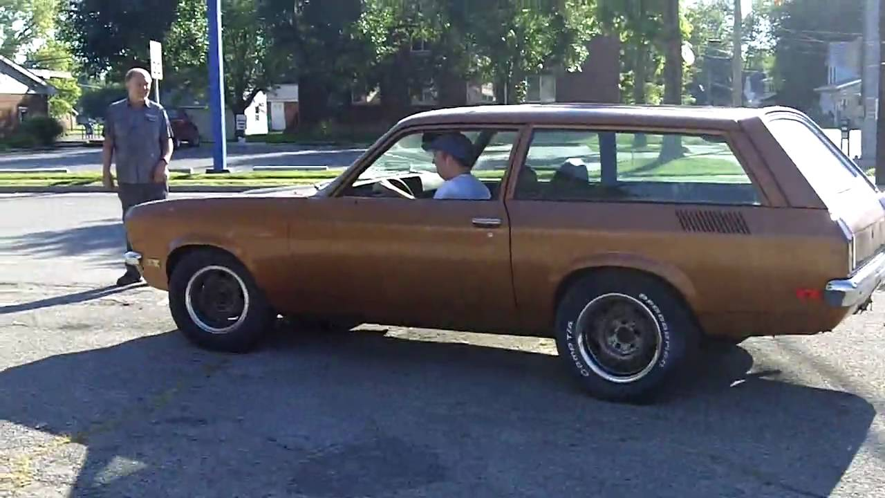 All Chevy 73 chevy vega : 1972 Vega Wagon 1st Drive - YouTube