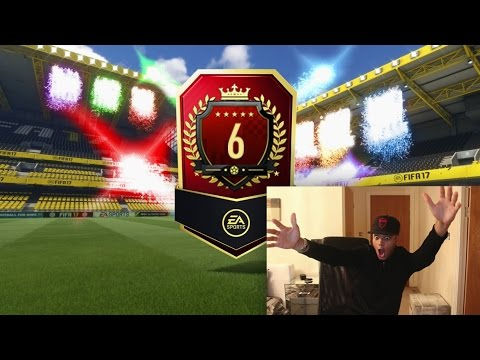 TOP 6 IN THE WORLD FUT CHAMPIONS REWARDS PACK!! BEST FIFA 17 FUT CHAMPS PACK OPENING!