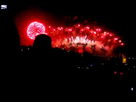 Sydney New Year Eve Fireworks Waverton Peninsula