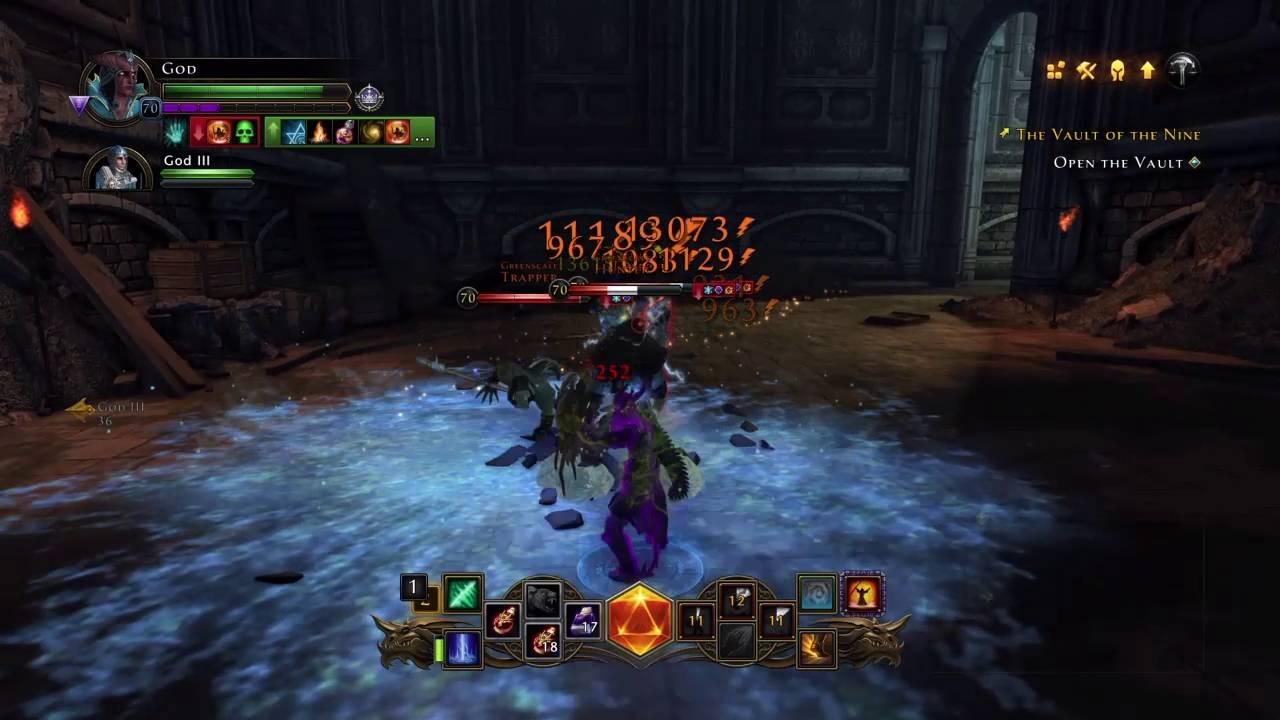 Neverwinter online control wizard build