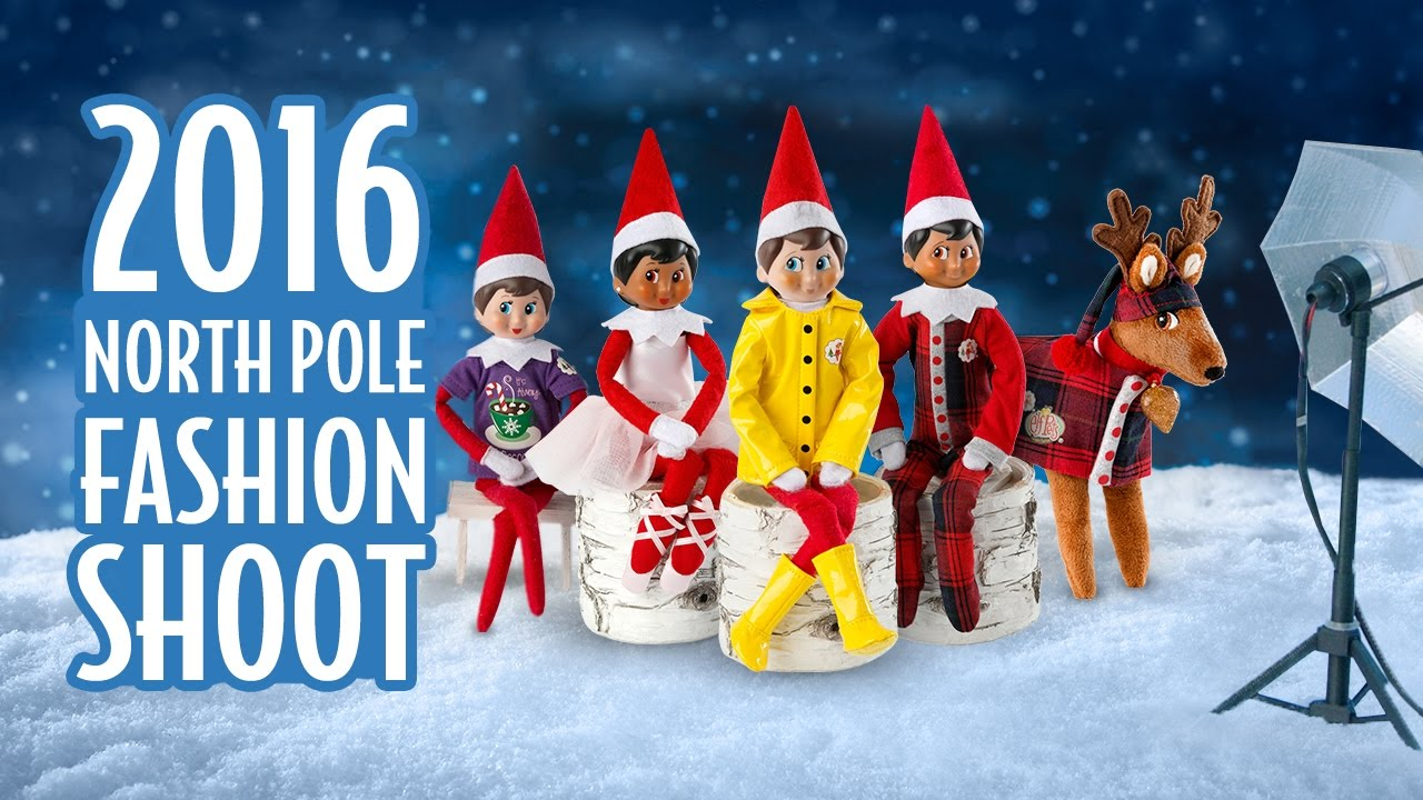Elf On The Shelf Pictures At The North Pole