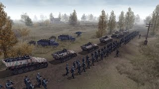 Enemy at the Gates - Stalingrad 1942 Initial Invasion Stages | Men of War: Assault Squad 2 Gameplay