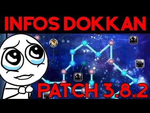 INFOS DOKKAN BATTLE : la mise à jour 3 8 2 ! MERCI !!!
