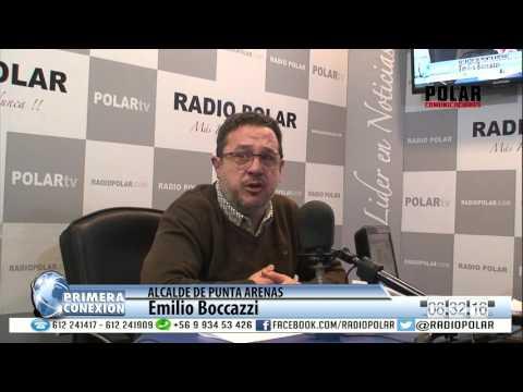 05 MAYO PRIMERA CONEXION ALCALDE DE PUNTA ARENAS PARTE 12016