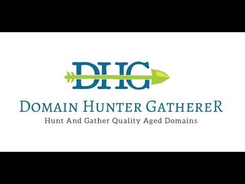 Expired Domain Hunter In Action - Domain Hunter Gatherer