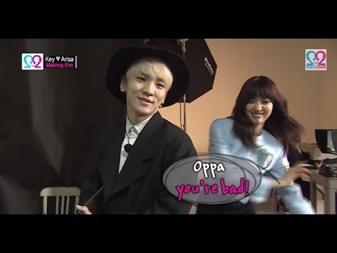 Global We Got Married S2 EP02 Making film (SHINee Key & Arisa) 140416 (샤이니 키 & 야기 아리사)