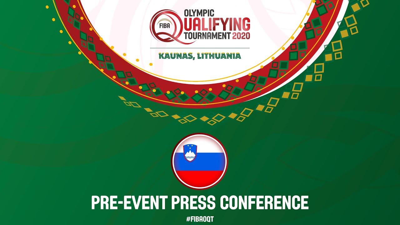 Pre-Event Press Conference: Slovenia