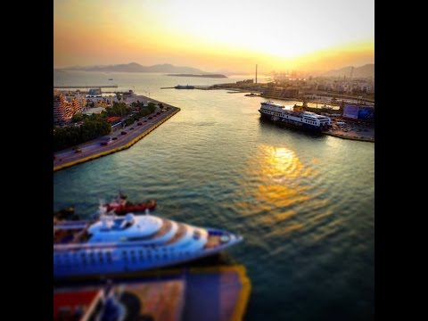 Piraeus Port - Yachts -  Marinas@Attiki - Demo Reel - Drone Footage