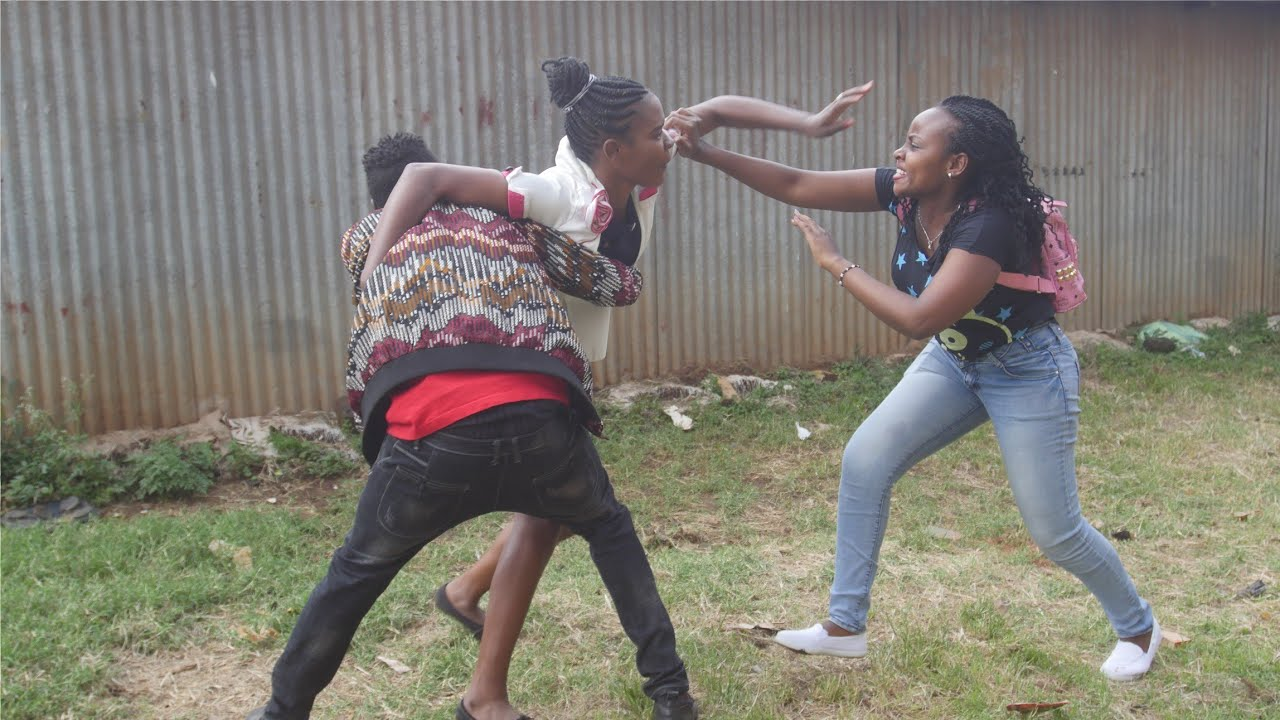 SLAYQUEEN CONFRONT BEFORE BOYCHILD at Githurai