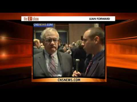 Ed Show Barney Frank dismantles reporter over DADT.