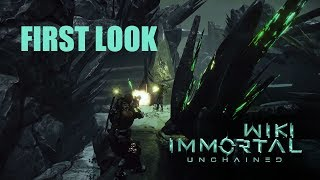 Immortal Unchained First Look and Gameplay Trailer (Souls-Like)