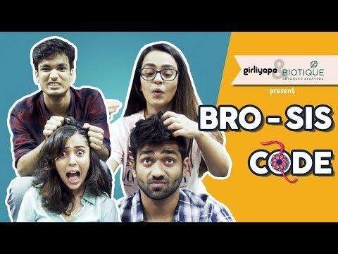 Bro-Sis Code feat. Apoorva Arora and Barkha Singh | Raksha Bandhan Special || Girliyapa