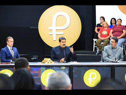 El Petro: Todos los anuncios de Maduro este 22 marzo 2018 sobre criptomoneda venezolana
