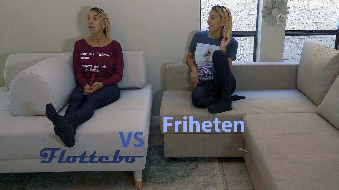 Best Ikea Convertible Couch (Friheten Vs Flottebo after 100 days: 2019  Review)