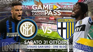Inter - parma| diretta live game pass| la reazione in tifosi crociati