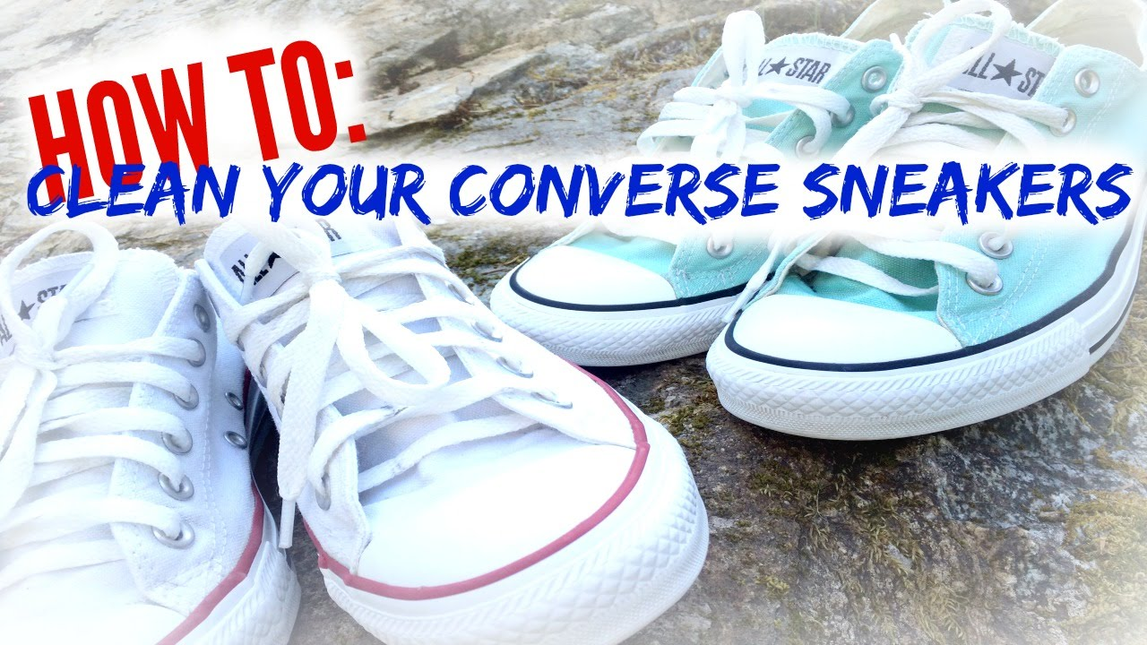 1) Sneakers: Can I put Converse shoes in the washing machine