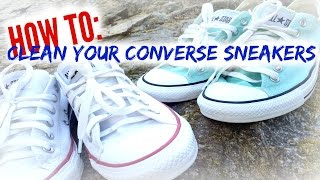 3 Ways to Clean Your Converses - wikiHow