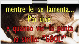 Franco Califano ER TIFOSO Karaoke con testo by QdK