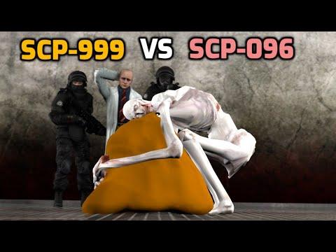 SCP-999 VS SCP-096 [SFM]