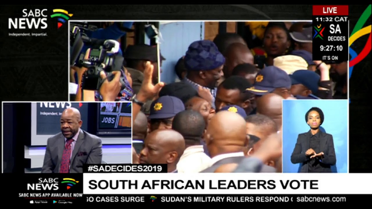 #SADECIDES2019 | South African leaders vote