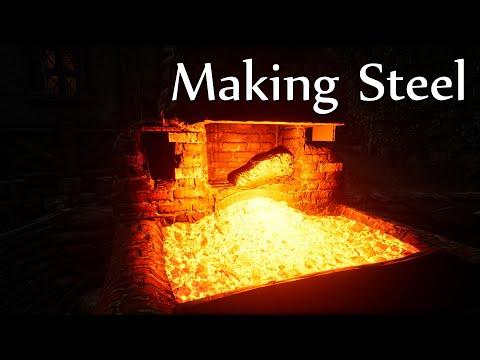 Mortal Online 2 Beta: Making Steel from Scratch