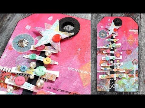 Oh Christmas Tree: Mixed Medium with Shari Carroll