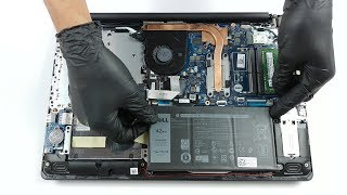 Dell Inspiron 15 3593 (Core i7-1065G7) - disassembly and upgrade options