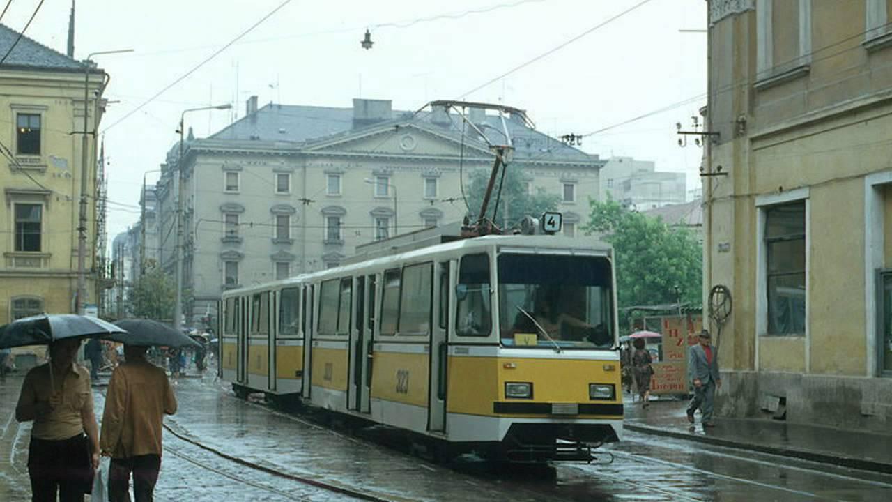 Cu tramvaiul, prin Timişoara deceniilor trecute