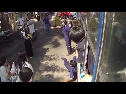 Girl shattered Men by TELEKINESIS - SUPERPOWER  !!