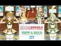 【ミリシタ MV&BGM】~虹色letters~ユニット & ソロライブ2人分け Unit Cleasky & Solo 島原エレナ、宮尾美也 全画面 1080p 60fps シアターデイズ