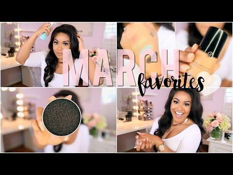 March Favorites 2016 | Hair Care + Makeup!!!