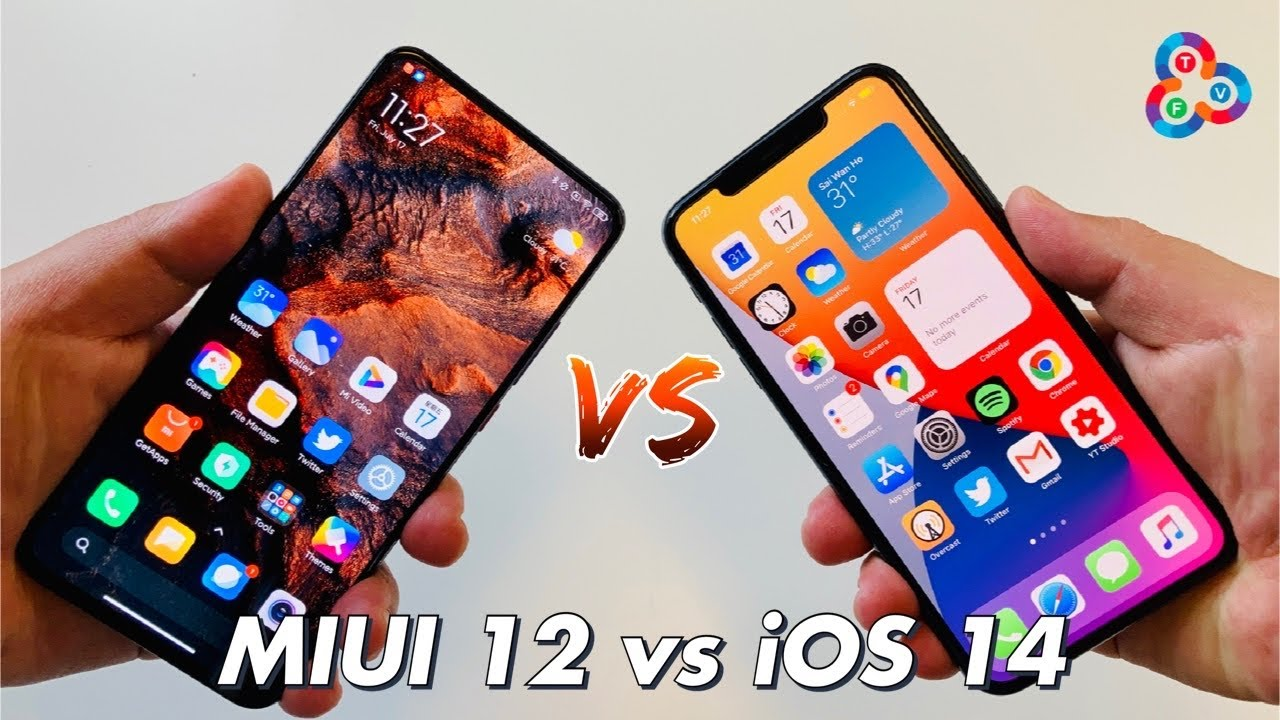 MIUI 12 vs iOS 14 - BEST OF BOTH WORLDS!