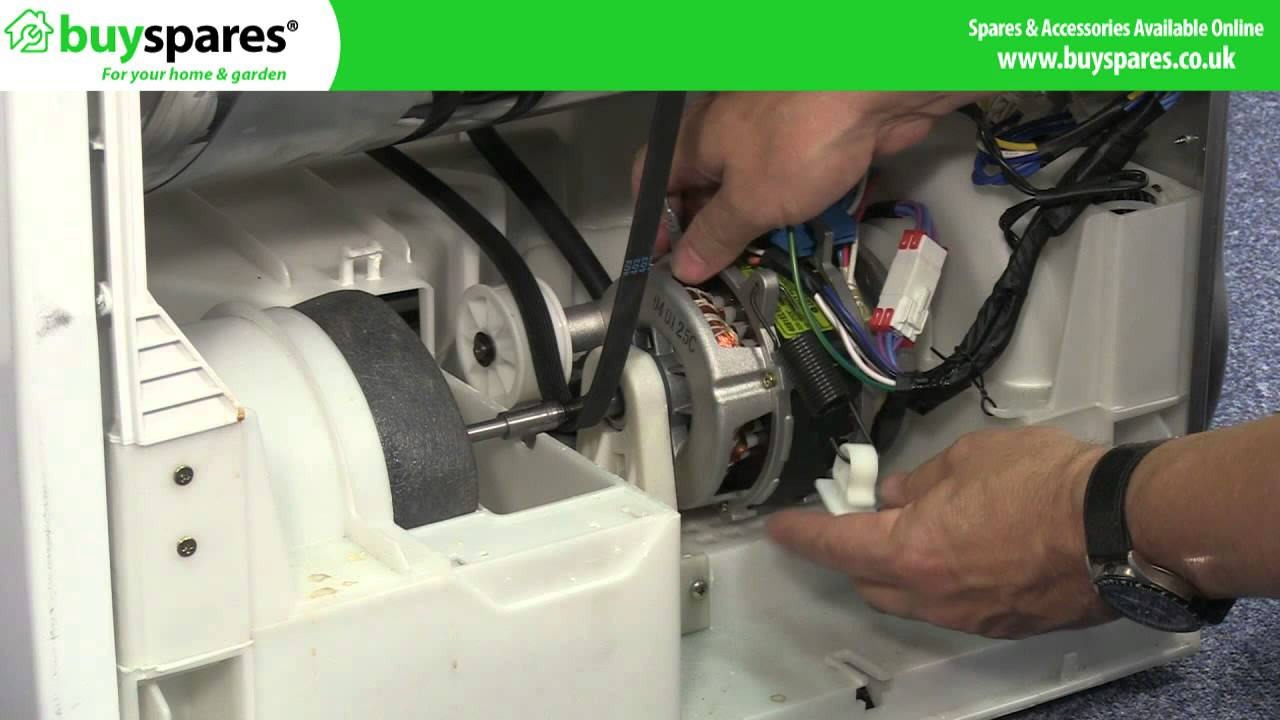 Replacing a Tumble Dryer Belt on a Condenser Dryer (LG) - YouTube