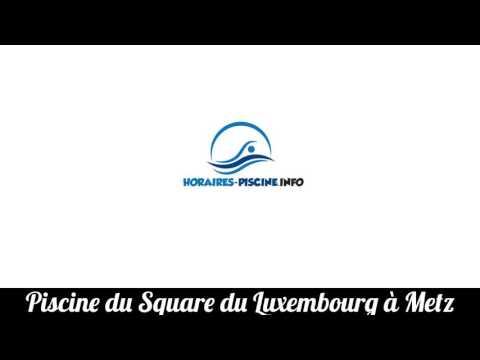 Piscine du Square du Luxembourg à Metz
