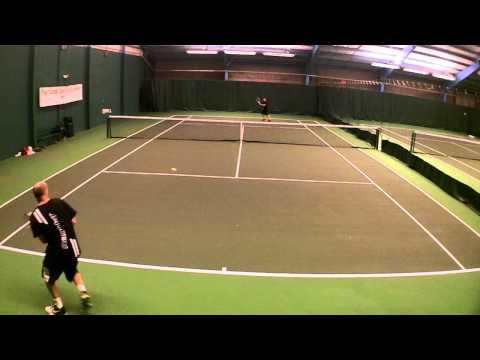 Amateur Tennis - Steve T. v Nick Y. _01242012.MP4