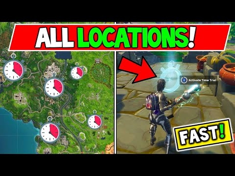 3 Easy Time Trial Locations And Solutions Fortnite Battle Royale // ~Week 3 Challenges Season 6~
