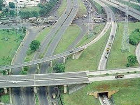 Jalur Jalan Tol Amplas Medan Sumatera Utara