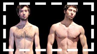 Mi transformación - 10 meses (vegetariano)