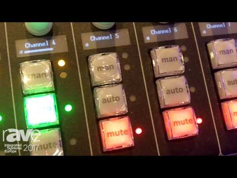 ISE 2017: Dan Dugan Sound Design Talks About Remote Controlling Its Automatic Mixers