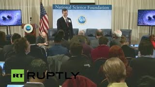 LIVE: Scientists give update on search for gravitational waves