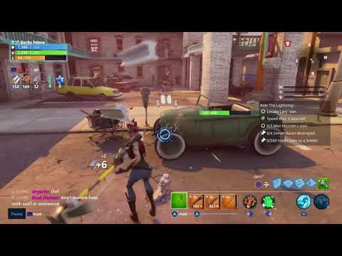 Fortnite - Save The World - Hoverboard Guide