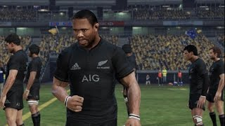 Rugby Challenge 3: BE A PRO 2018 All Blacks v Wallabies (Bledisloe Cup Game 1)